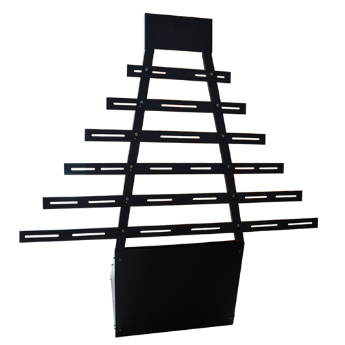 Universal led lights bar display stand