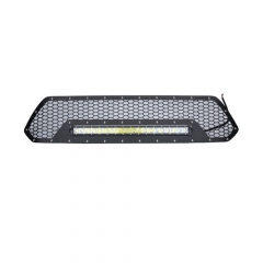 TOYOTA MESH GRILLE W/ Single 20IN BLACK SERIES LEDS (2012-2013 TACOMA)