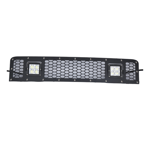 TOYOTA MESH GRILLE  2IN BLACK SERIES LEDS (05-14 FJ CRUISER)