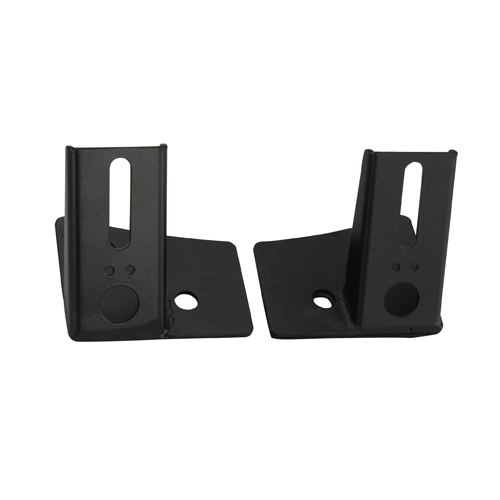 Lower Windshield Light Mounting Brackets for 07-17 Jeep Wrangler JK & Wrangler Unlimited