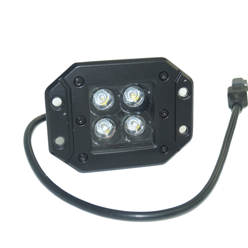 3-inch Square Flush Mount CREE LED Work lights